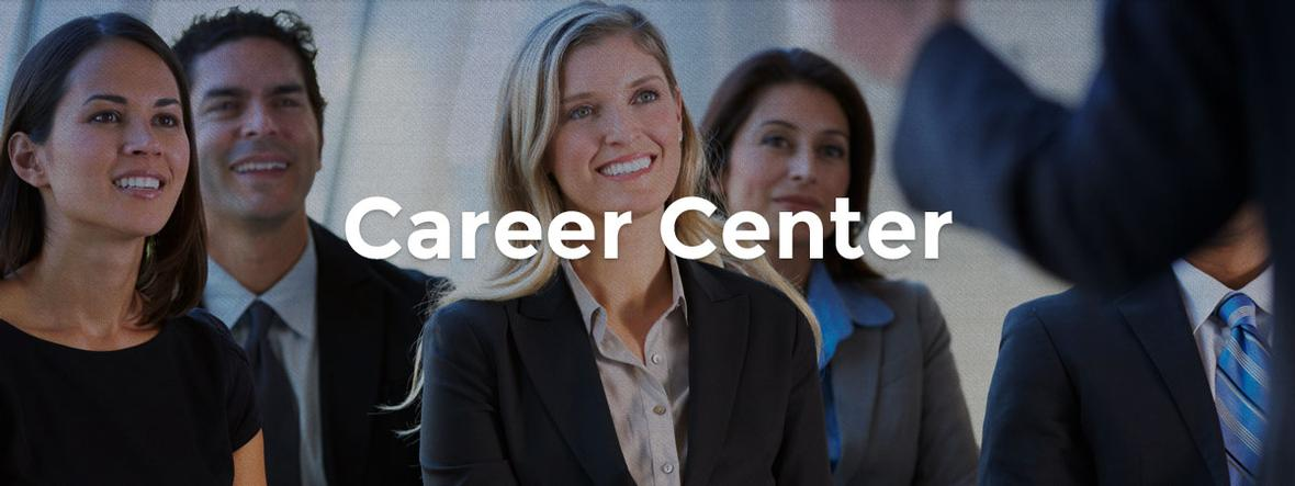career center page banner