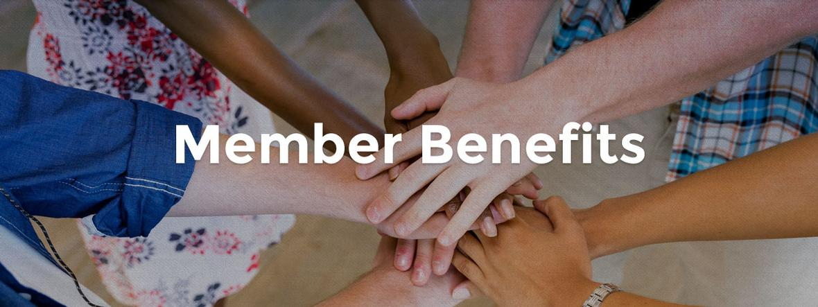 Banner picture for the Member Benefits page